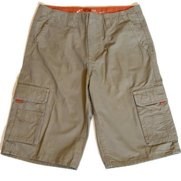 d3b28b6f32 Eddie Bauer Shorts | Womens Khaki Cargo Size 18 | Poshmark